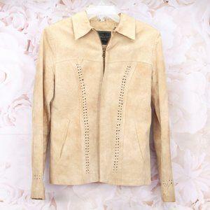 Avanti Genuine Leather Tan Lightweight Jacket